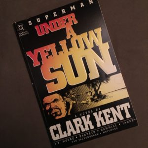 Under a Yellow Sun was a prestige graphic novel published by DC Comics